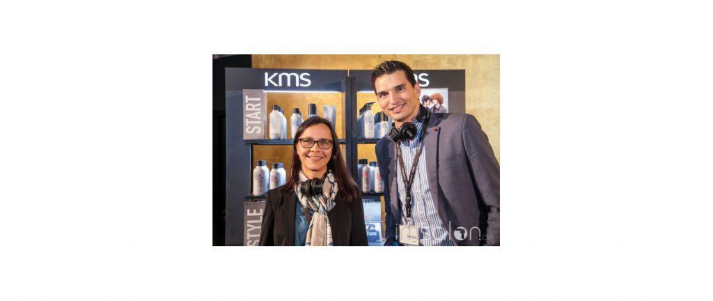 Marco Felice (Geschäftsführer KAO Österreich) und Sabine Valdes (Marketing/Education KAO Österreich)