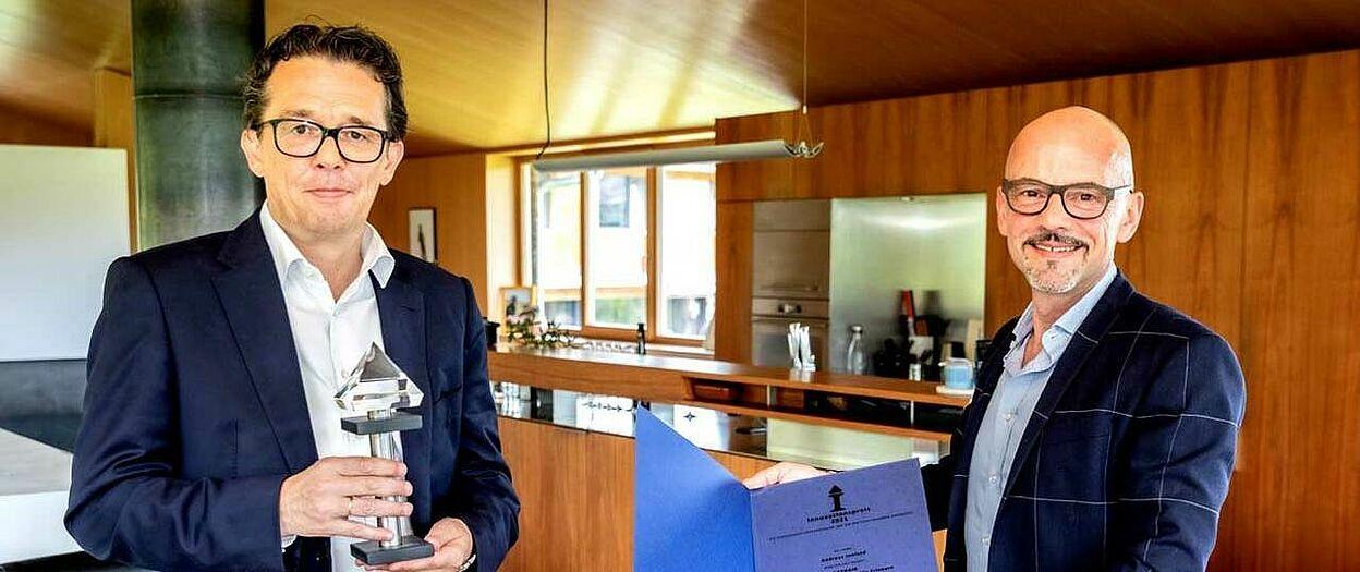 Hans Peter Metzler - WK Präsident Vorarlberg & Andreas Innfeld - GETHAIR | C: GETHAIR
